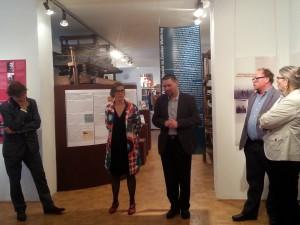 Eröffnung Ausstellung Widerstand in Lerchenfeld